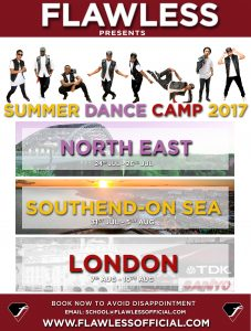 FLAWLESS SUMMER DANCE CAMP 2017
