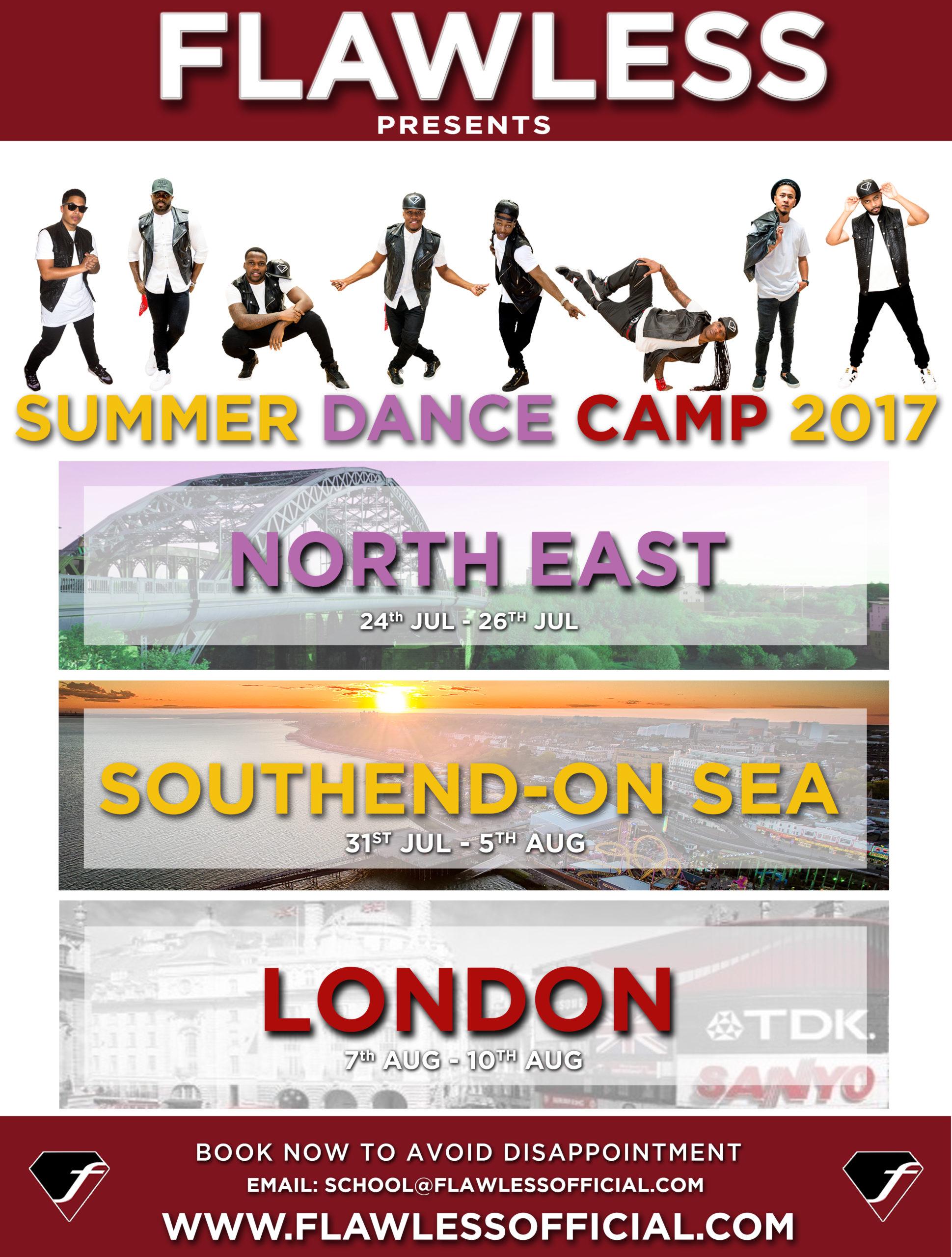 FLAWLESS SUMMER DANCE CAMP 2017