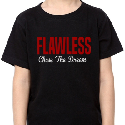 FLAWLESS CTD Kids Black T-Shirt