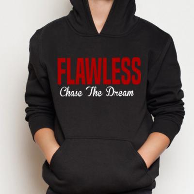 FLAWLESS CTD Kids Black Hoodie