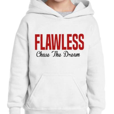 FLAWLESS CTD Kids White Hoodie