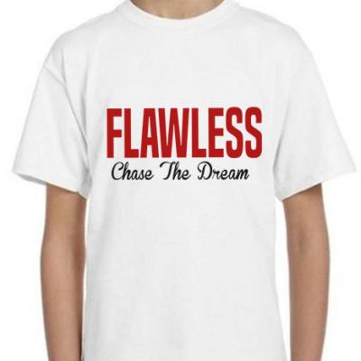 FLAWLESS CTD Kids White T-Shirt