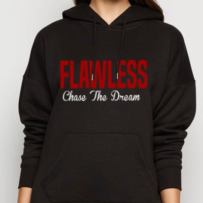 FLAWLESS CTD Adult Black Hoodie